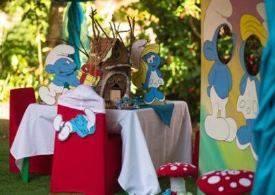 Smurfs Party Theme