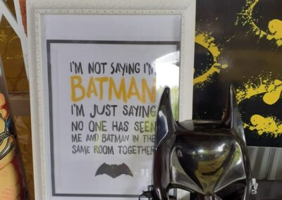 Batman Party Theme One dell of a party