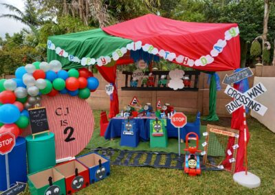 Thomas the train Theme by One Dell of a Party