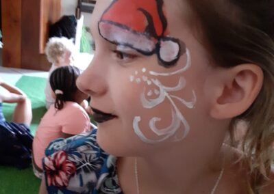 Face Painting with One Dell of a Party