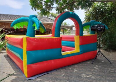 Tropical Jumping Castle / Foam Pit