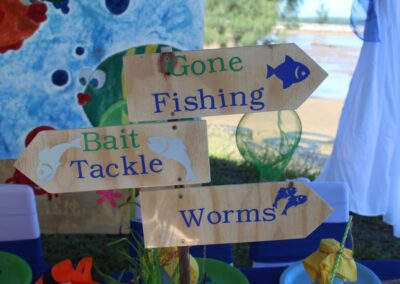 Fishing Party Theme by One Dell of a Party