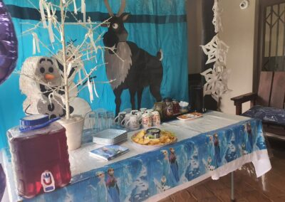 Frozen Party Theme by One Dell of a Party