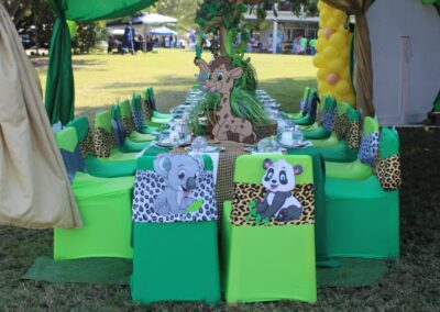 Jungle Party Theme by One Dell of a Party